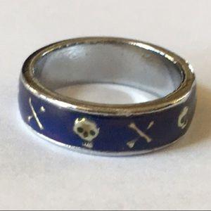 ->4for$25  Skull & Crossbones Mood Ring